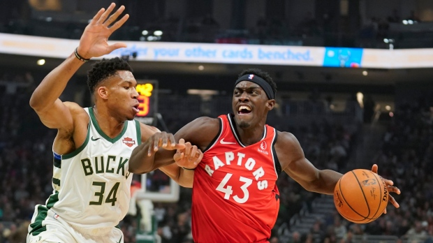 Raptors vs Bucks